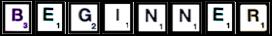 Beginner Scrabble Puzzles