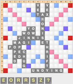 Scrabble Entropy strategy