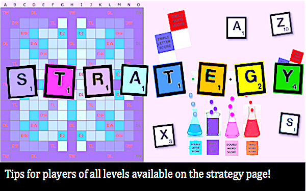 Scrabble Strategy Page